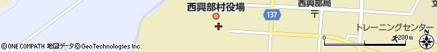 北海道紋別郡西興部村周辺の地図