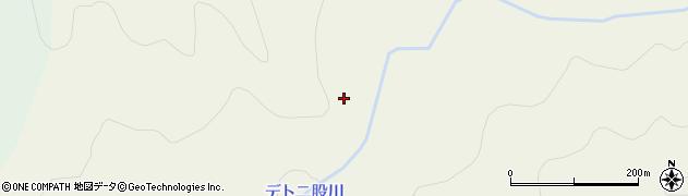 デト二股川周辺の地図