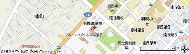 北海道羽幌町(苫前郡)周辺の地図