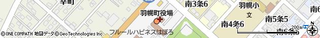 北海道苫前郡羽幌町周辺の地図