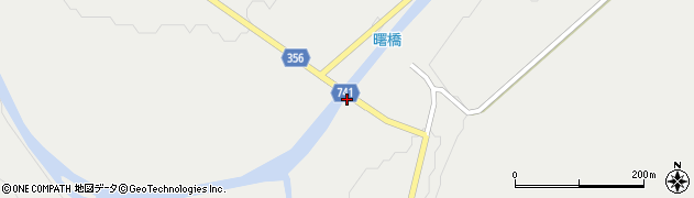 曙橋周辺の地図