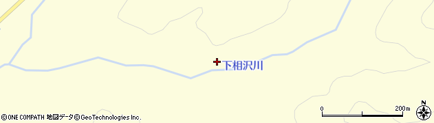 下相沢川周辺の地図