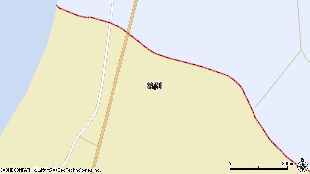〒078-4141 北海道苫前郡羽幌町築別の地図