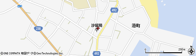 北海道紋別郡興部町沙留周辺の地図