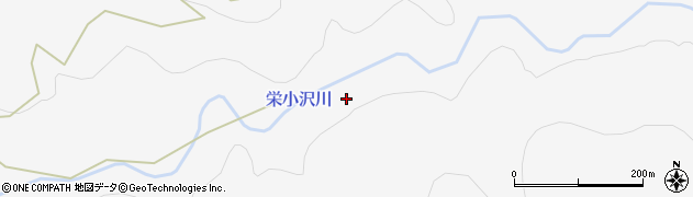 栄小沢川周辺の地図