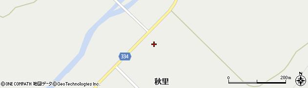 北海道紋別郡興部町秋里周辺の地図