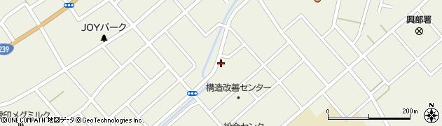 北海道紋別郡興部町興部栄町周辺の地図