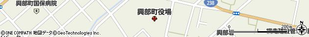 北海道紋別郡興部町周辺の地図