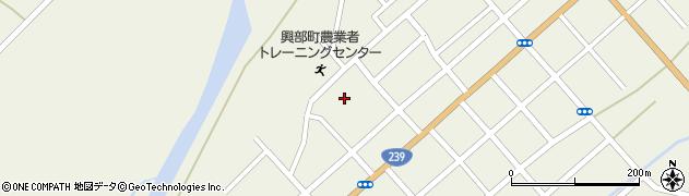 北海道紋別郡興部町興部仲町周辺の地図