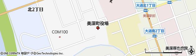 北海道中川郡美深町周辺の地図