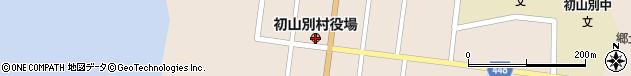 北海道苫前郡初山別村周辺の地図