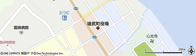 北海道紋別郡雄武町周辺の地図
