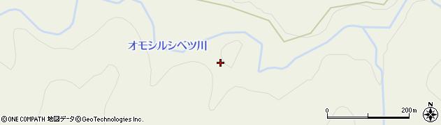 オモシルシベツ川周辺の地図
