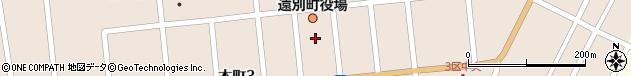 北海道天塩郡遠別町周辺の地図
