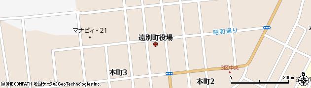 北海道遠別町(天塩郡)周辺の地図