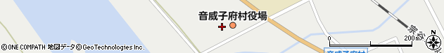 北海道中川郡音威子府村周辺の地図