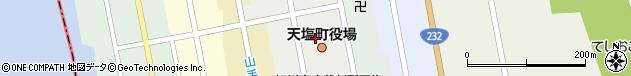 北海道天塩郡天塩町周辺の地図