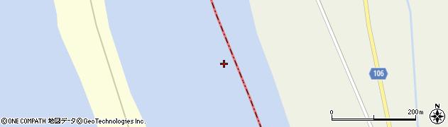 天塩川周辺の地図