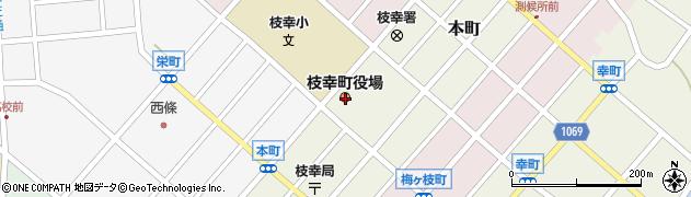 北海道枝幸郡枝幸町周辺の地図