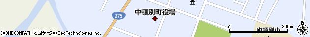 北海道枝幸郡中頓別町周辺の地図