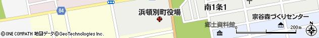 北海道枝幸郡浜頓別町周辺の地図