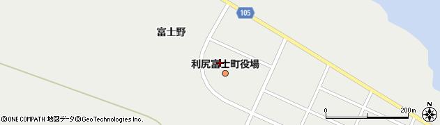 北海道利尻郡利尻富士町周辺の地図