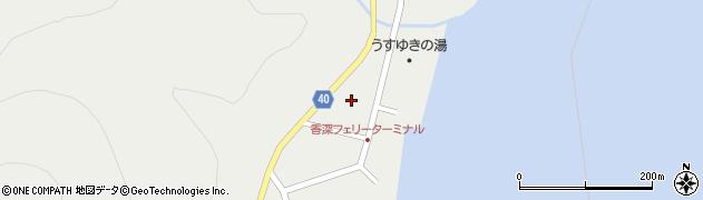 北海道礼文町(礼文郡)香深村(ワウシ)周辺の地図