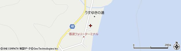 北海道礼文町(礼文郡)香深村(ベッシュ)周辺の地図
