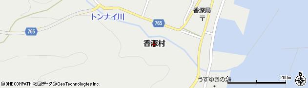 北海道礼文町(礼文郡)香深村周辺の地図