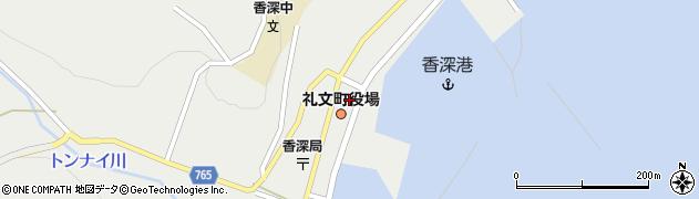 北海道礼文町(礼文郡)周辺の地図