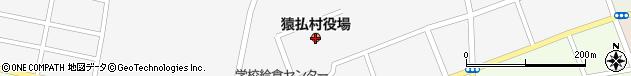 北海道宗谷郡猿払村周辺の地図