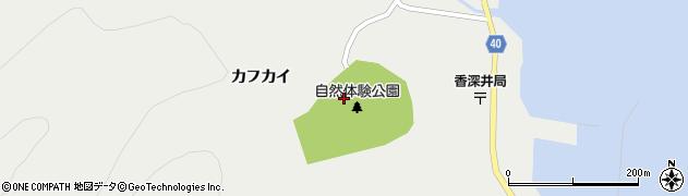 北海道礼文町(礼文郡)香深村(カフカイ)周辺の地図