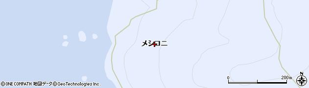 北海道礼文町(礼文郡)船泊村(メシコニ)周辺の地図