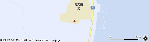 北海道礼文町(礼文郡)船泊村(ヲチカフナイ)周辺の地図