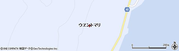 北海道礼文町(礼文郡)船泊村(ウヱントマリ)周辺の地図