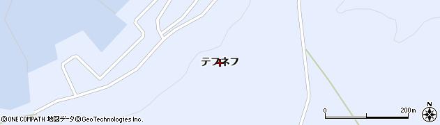 北海道礼文町(礼文郡)船泊村(テフネフ)周辺の地図
