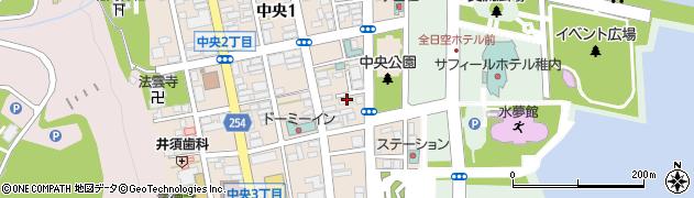 北海道銀行稚内アパート周辺の地図