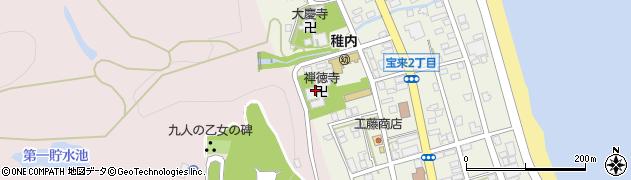 禅徳寺周辺の地図