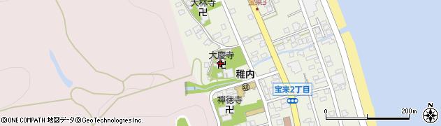 大慶寺周辺の地図
