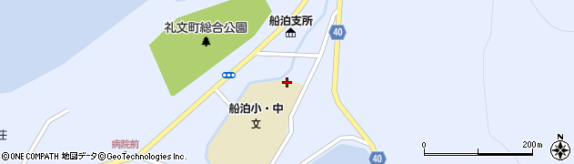北海道礼文町(礼文郡)船泊村(ヲションナイ)周辺の地図