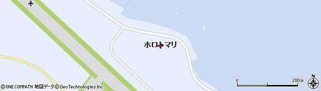 北海道礼文町(礼文郡)船泊村(ホロトマリ)周辺の地図