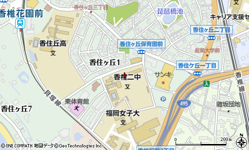 福岡市立香椎第二中学校(福岡市/中学校)の電話番号・住所・地図|マピオン電話帳