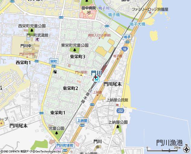 門川町商工会(東臼杵郡門川町/その他施設・団体)の地図 ...