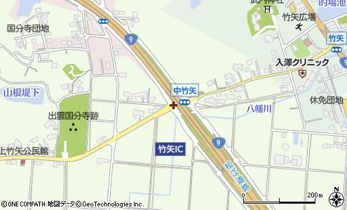 竹矢IC(松江市/高速道路IC(インターチェンジ))の住所・地図 ...