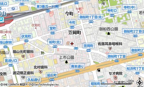 45c5ca2d42f 広島県福山市笠岡町1−17. ルートを見る · 株式会社国輝堂 スポーツ店の大きい地図を見る