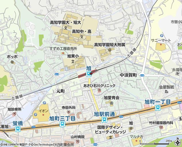 JR旭駅(高知市/鉄道業)の電話番号・住所・地図|マピオン電話帳
