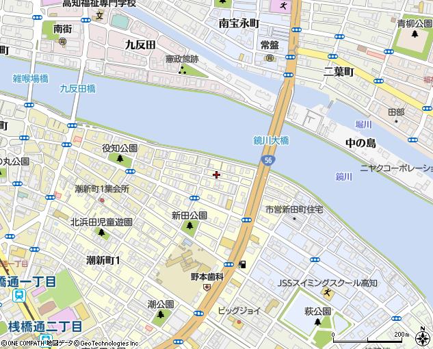 とさでん交通市内線 宝永町駅 徒歩14分 3.5万円 ワンルーム 築32年 賃貸アパート