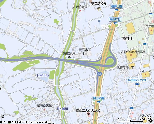 岡山IC(岡山市/高速道路IC(インターチェンジ))の住所・地図 ...