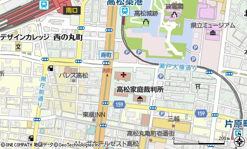 高松矯正管区(高松市/省庁・国の機関)の電話番号・住所・地図 ...