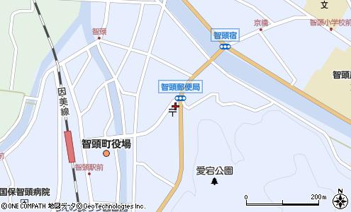 智頭郵便局 ATM(八頭郡智頭町/郵便局・日本郵便)の電話番号・住所 ...